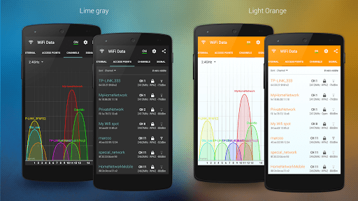 Скриншот WiFi Data для Android