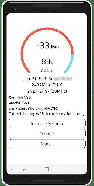 Скриншот WiFi Warden для Android