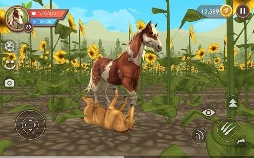 Скриншот WildCraft: Симулятор Жизни Зверей для Android