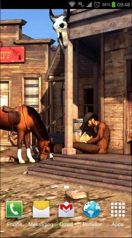 Скриншот Wild West 3D для Android