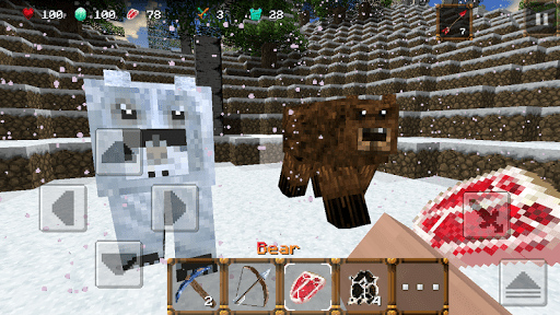 Скриншот Winter Craft 3: Mine Build для Android