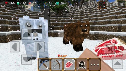 Скриншот Winter Craft 3: Mine Build для Android