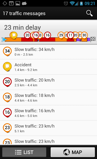 Скриншот Wisepilot GPS-навигатор TRIAL для Android