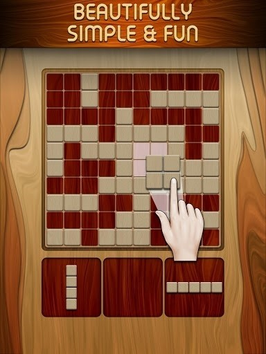 Скриншот Woody Block Puzzle для Android