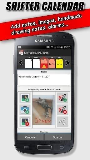 Скриншот Work Shift Calendar для Android