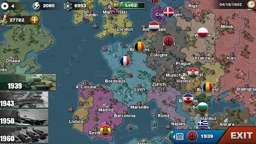 Скриншот World Conqueror 3 для Android