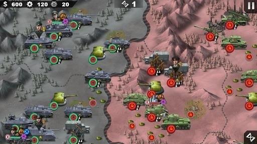 Скриншот World Conqueror 4 для Android