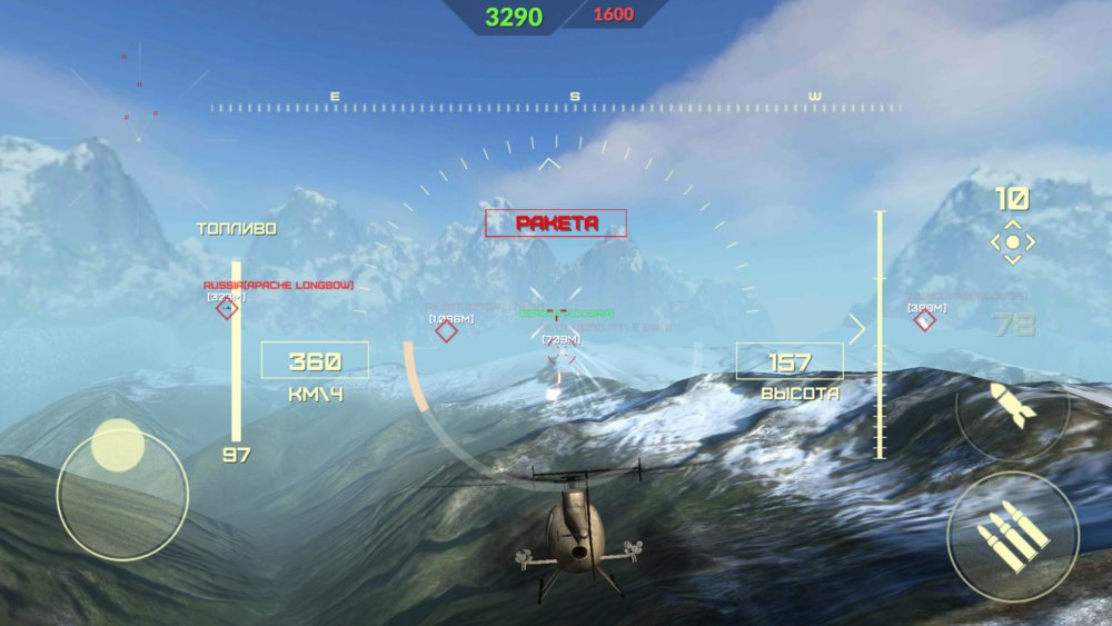 Скриншот World of Gunships для Android