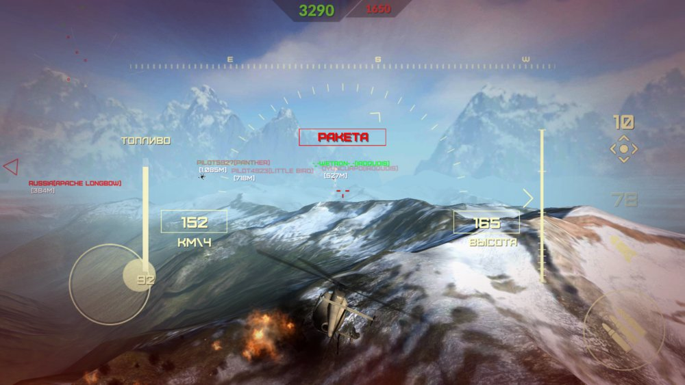 Скриншот World of Gunships для Android