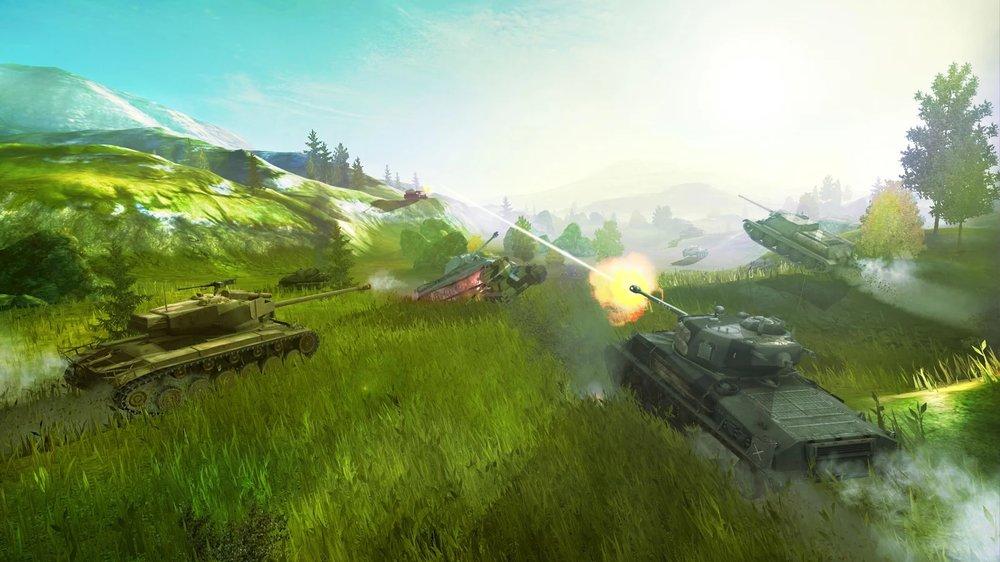Скриншот World of Tanks Blitz для Android