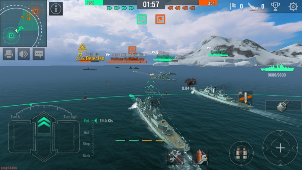 Скриншот World of Warships Blitz для Android