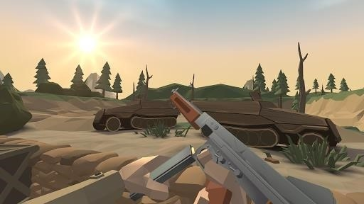 Скриншот World War Polygon для Android