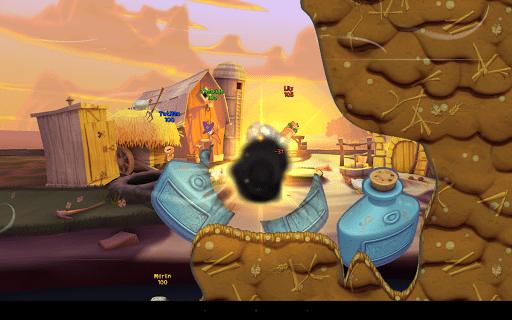 Скриншот Worms 3 для Android