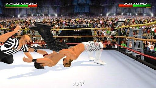 Скриншот Wrestling Revolution 3D для Android