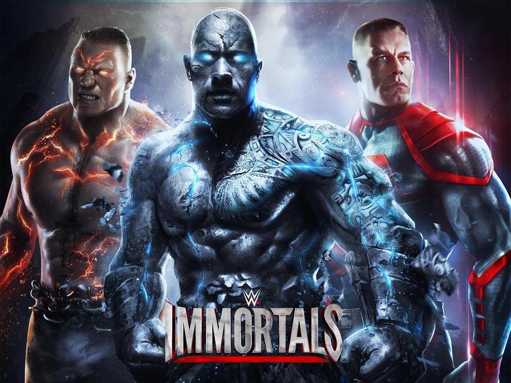 Скриншот WWE Immortals для Android