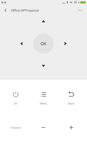 Скриншот Xiaomi Mi пульт для Android