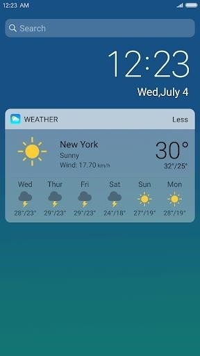 Скриншот X Launcher IOS Prime для Android