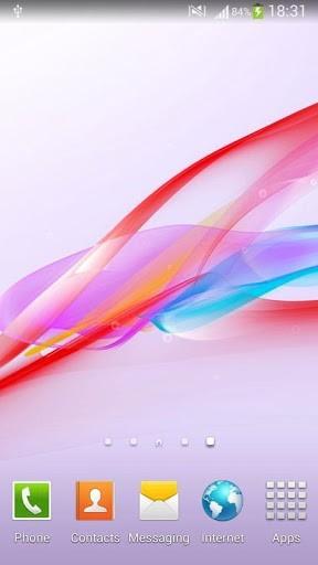 Скриншот Xperia Z Ultra живые обои для Android