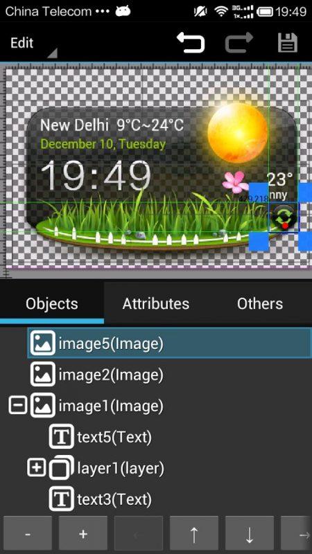 Скриншот XWidget для Android