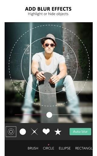 Скриншот YouCam Perfect для Android