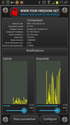 Скриншот Your Freedom для Android