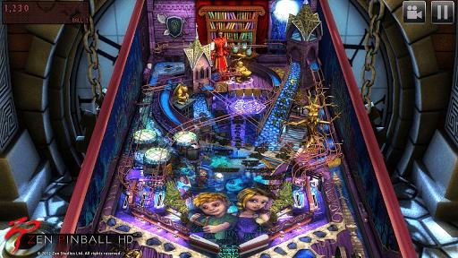 Скриншот Zen Pinball HD для Android