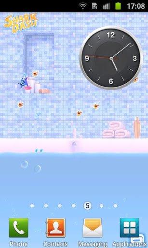 Скриншот Живые обои Shark Dash для Android