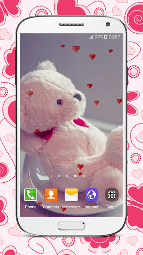 Скриншот Живые обои с медведем / Ted Live Wallpaper для Android