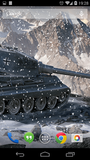 Скриншот Живые обои World of Tanks для Android