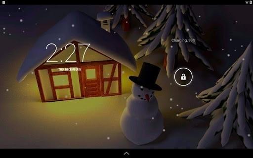 Скриншот Зима 3D для Android