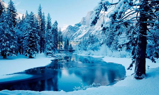 Скриншот Зима Снег Live Wallpaper для Android