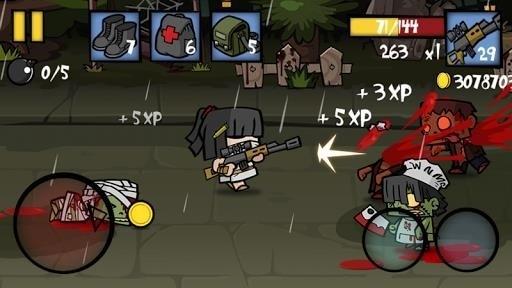 Скриншот Zombie Age 2 для Android