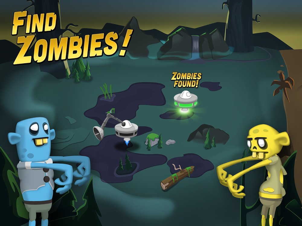 Скриншот Zombie Catchers для Android