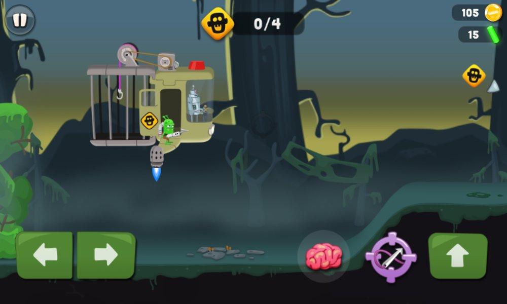 Скриншот Zombie Catchers для Android