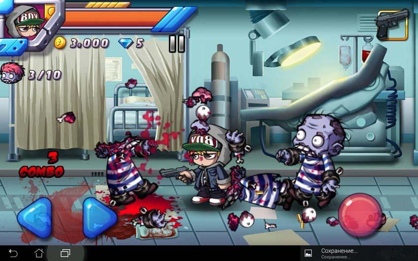 Скриншот Zombie Diary 2: Evolution для Android