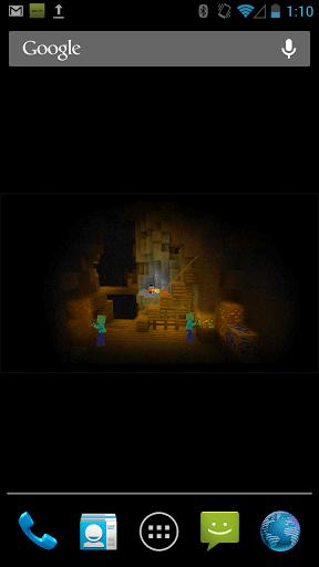 Скриншот ZombieMine Minecraft Wallpaper для Android