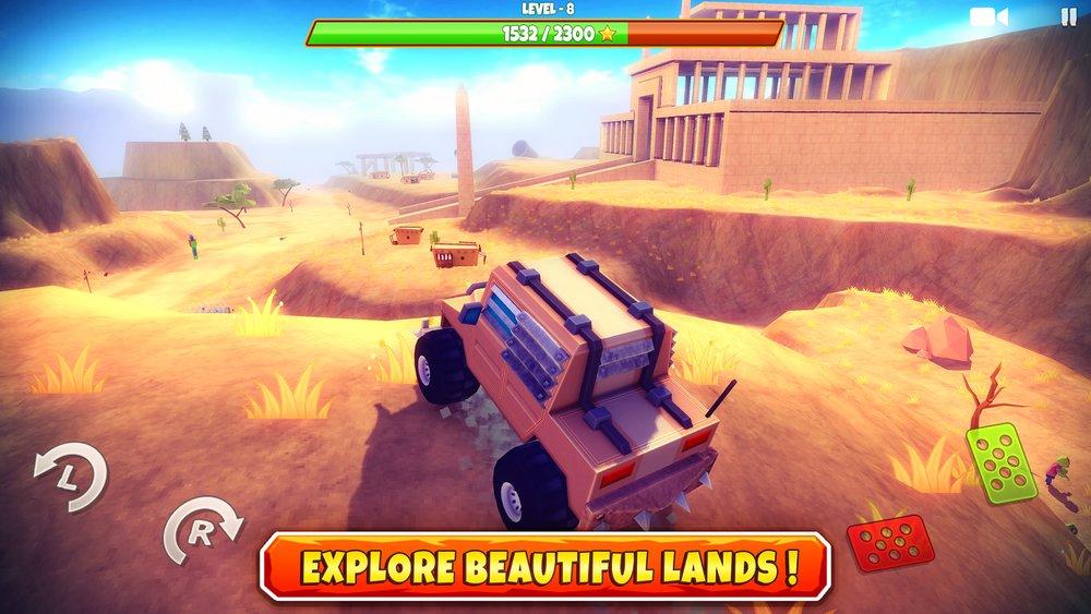 Скриншот Zombie Offroad Safari для Android