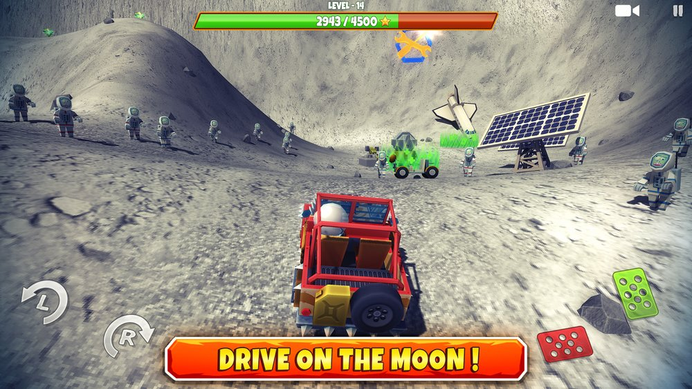 Скриншот Zombie Offroad Safari для Android