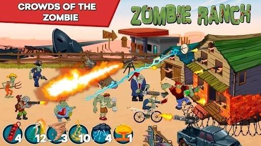 Скриншот Zombie Ranch для Android