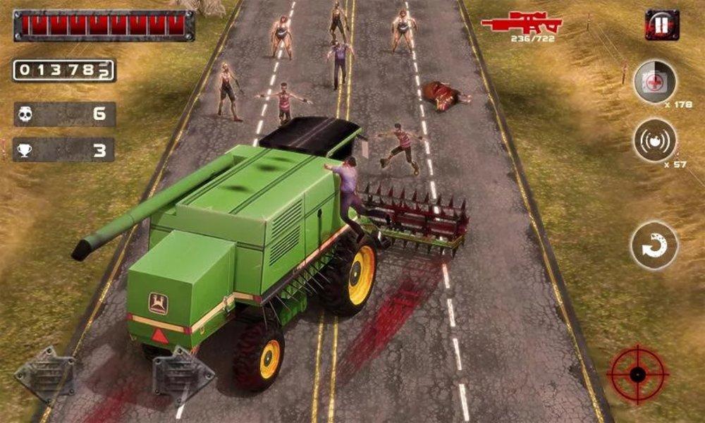 Скриншот Zombie Squad для Android