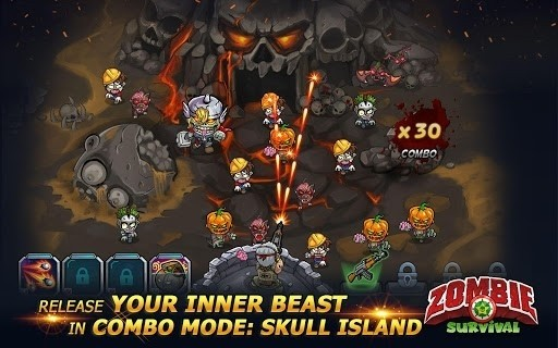 Скриншот Zombie Survival: Game of Dead для Android