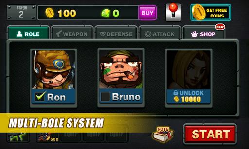 Скриншот зомби коммандос — Zombie 2014 для Android