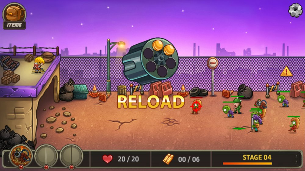 Скриншот Zombo Buster Rising для Android