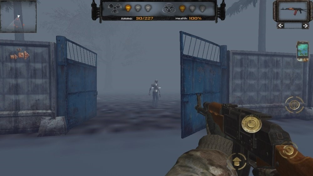 Скриншот Z.O.N.A Project X для Android