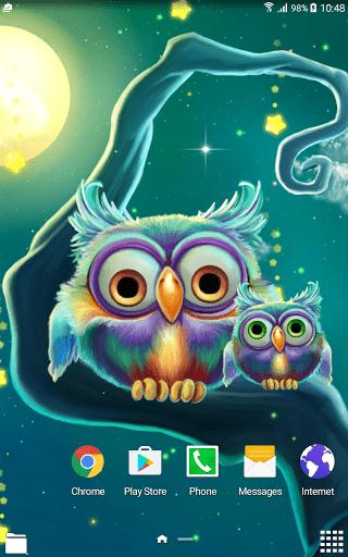 Скриншот Звездопад Живые Обои / Starfall Live Wallpaper для Android